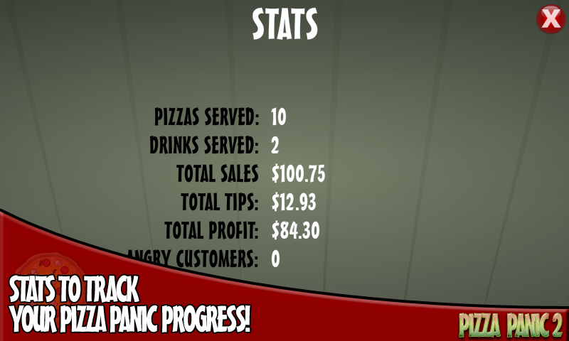 Pizza Panic 2- screenshot