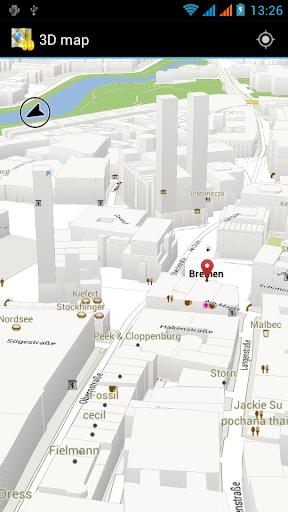 3D 地图 沙特阿拉伯