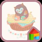 Soft Owl dodol launcher theme icon