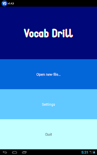 Vocab Drill - screenshot thumbnail
