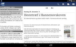 Screenshot of Folketidende