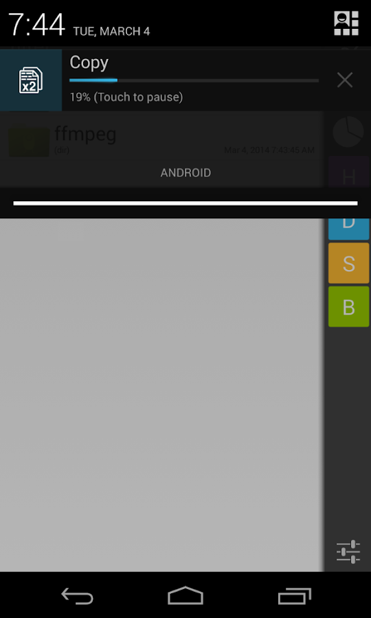 Operator File Manager- screenshot