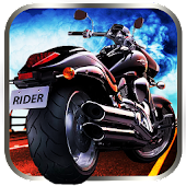 Trail bike traffic rush 3d