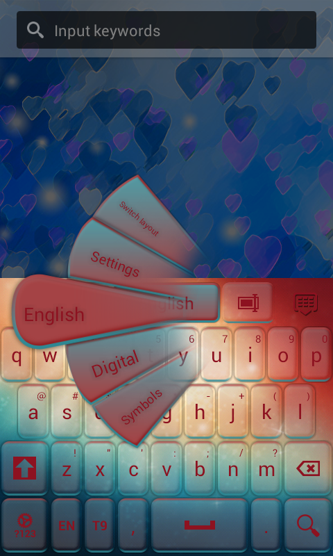 Keypad Galaxy - screenshot