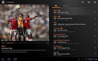 Screenshot of TV Mobilna M-T 5000 Tablet