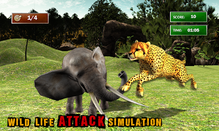African Cheetah Survival Sim 1.1 screenshot 69718