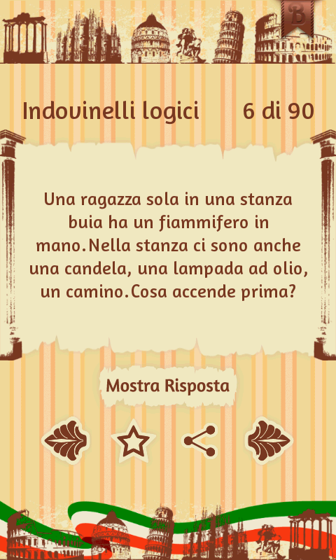 Italian Riddles Pro- screenshot