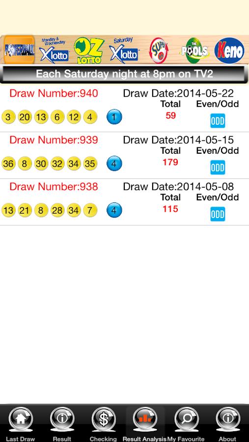 Lotto Australia Free - screenshot