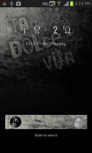 【免費個人化App】ladolcevita go locker theme-APP點子