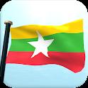 Myanmar Bandera 3D Gratis icon