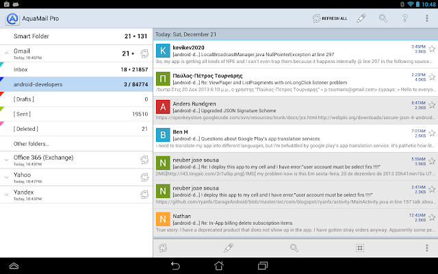 Aqua Mail - email app 1.5.0.19 PATCHED APK