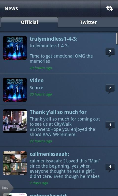 Mindless Behavior - screenshot
