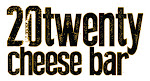 Logo for 20twenty cheese bar