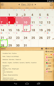 Period Calendar / Tracker v1.452