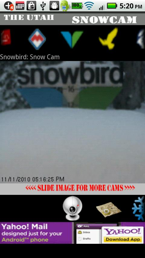 The Utah Snow Cam - screenshot