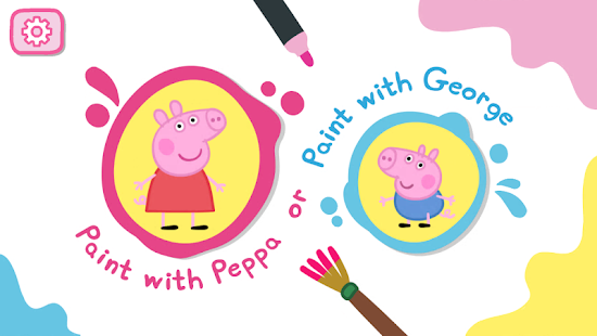 Peppa's Paintbox- screenshot thumbnail
