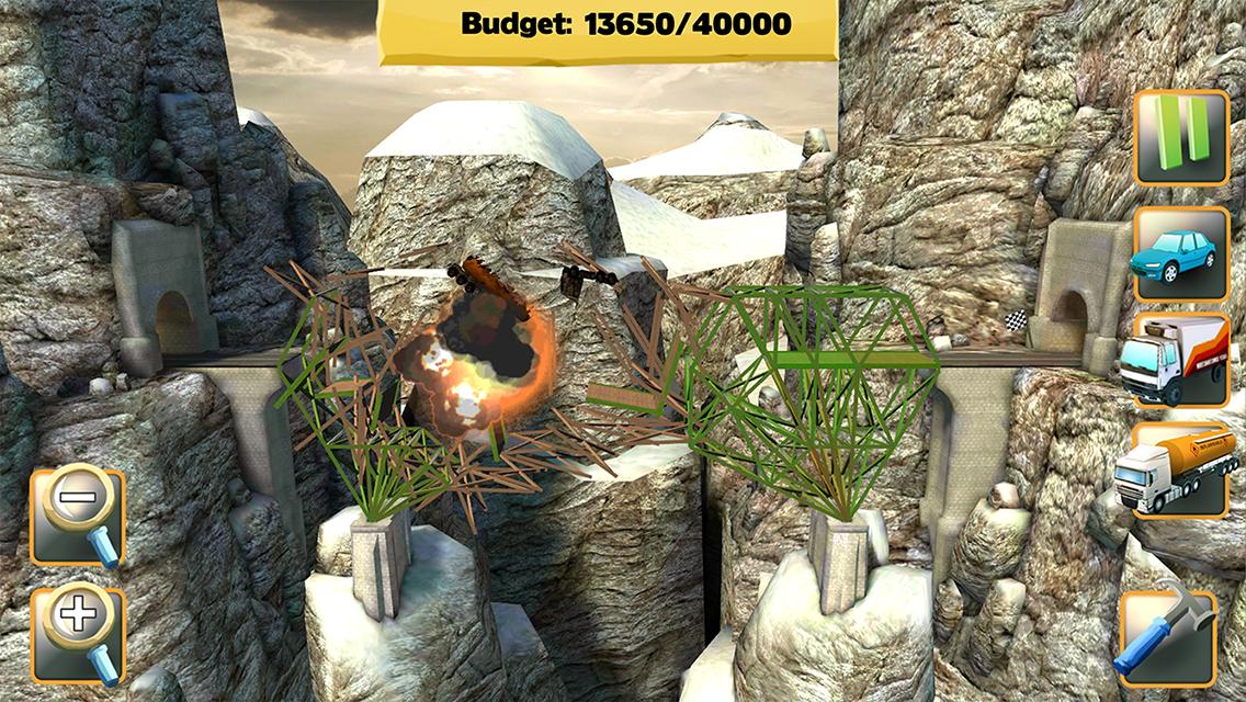 Bridge Constructor screenshot #2