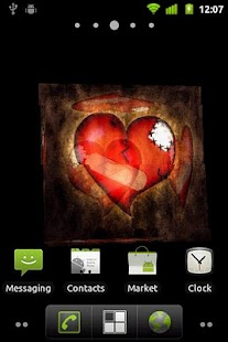 Broken Heart 3D Live Wallpaper - screenshot thumbnail