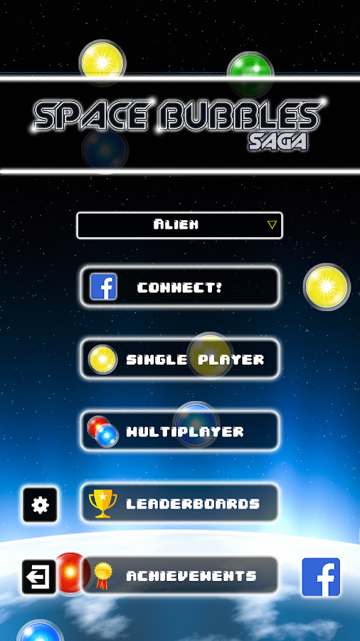 Space Bubbles Single/Multi - screenshot