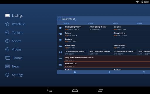 TV Guide Screenshot