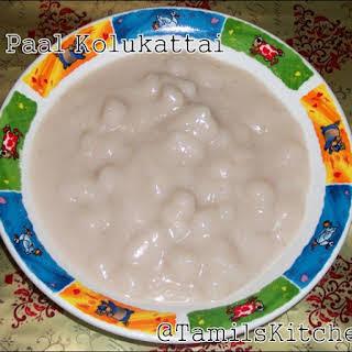 பால் கொழுக்கட்டை / Rice Dumplings in Sweet Coconut Sauce.