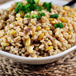 Simple Barley Pilaf.