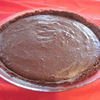 Carob Pie.