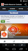 Screenshot of Radio Macomer Centrale