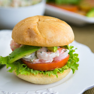 Shrimp Sandwiches (aka Easy Entertaining)