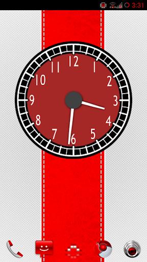 ws83SuperCar - Clock Widget