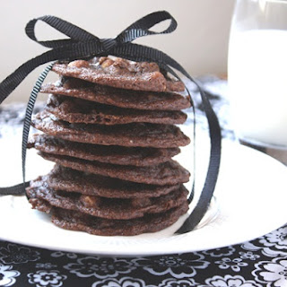 Delicate Chocolate Cookies - made with whole wheat.