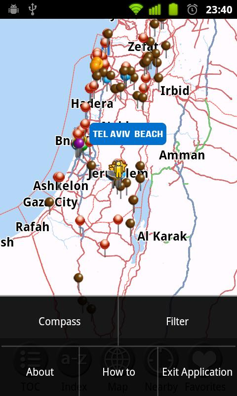 Israel - FREE Travel Guide- screenshot