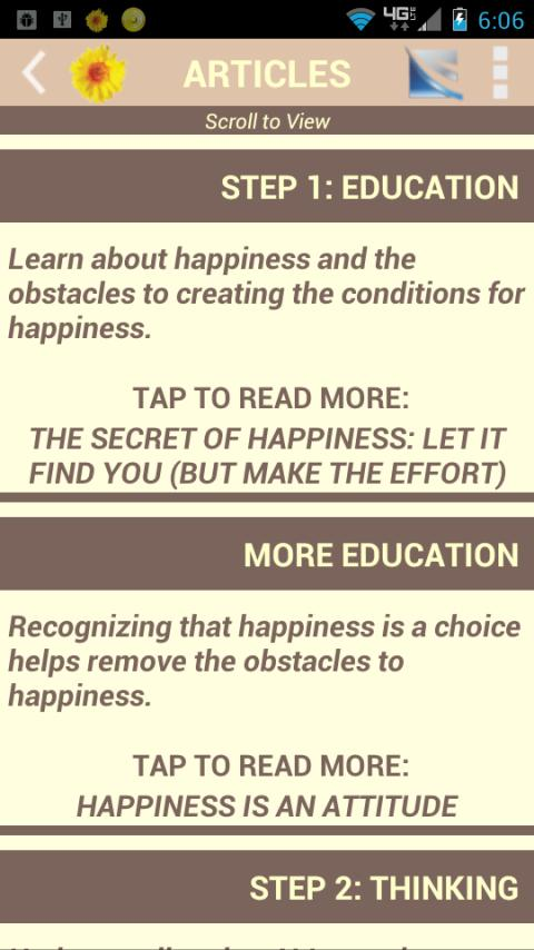 Happy Habits: Choose Happiness - screenshot