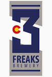 Logo of 3 Freaks First Man Up Belgian Ale
