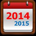 US Calendar 2014 / 2015 icon