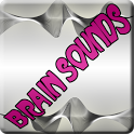 Brain sounds&music icon