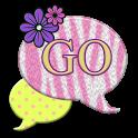 GO SMS THEME/PinkZebra4U icon