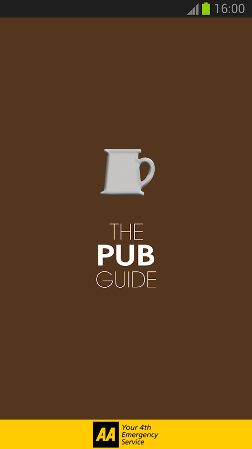 2014 AA Pub Guide - screenshot