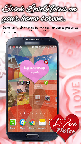 Ecards & Love Notes E2E Encrypted Messenger+ Screenshot