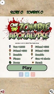 One Tap Zombie Apocalypse- screenshot thumbnail