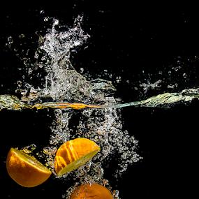 Half Oranges by William Ay-Ay - Food & Drink Fruits & Vegetables