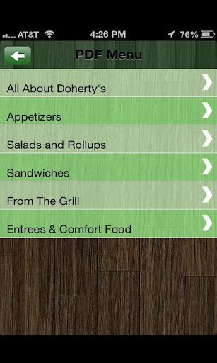 【免費生活App】Doherty's-APP點子