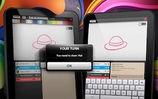 Screenshot of Sketch W Friends FREE -Tablets