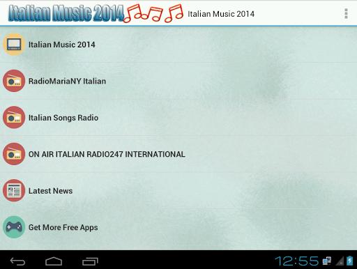 Italian Music Radio 2014