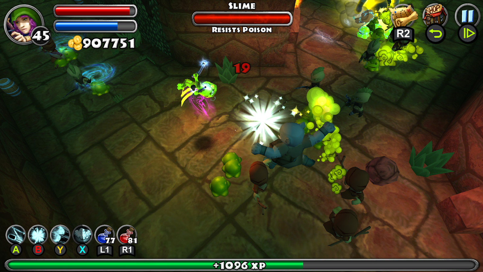 Dungeon Quest - screenshot