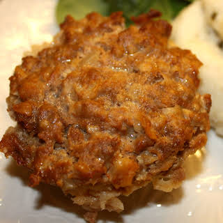 Easy Stone Wave Meatloaf For One!.