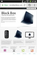 Screenshot of SMS Black Box