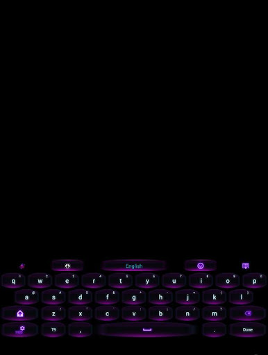 GO Keyboard Moonlite2 Theme