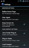 Screenshot of Alex Browser Pro