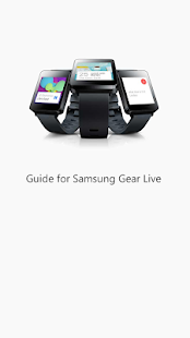 Guide for Samsung Gear Live